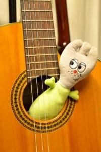 Guitare et fourchette .og