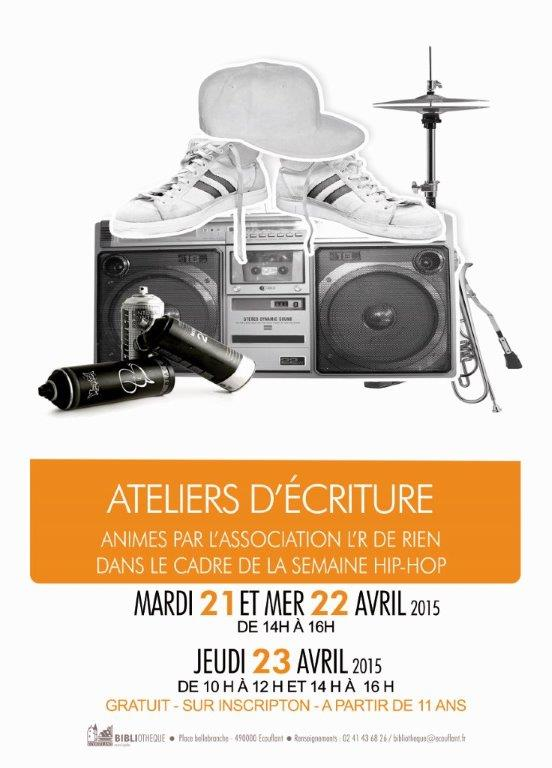 Affiche Atelier ecriture21-04-15-HIPHOP copie