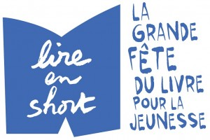 Logo Lire en short bleu light