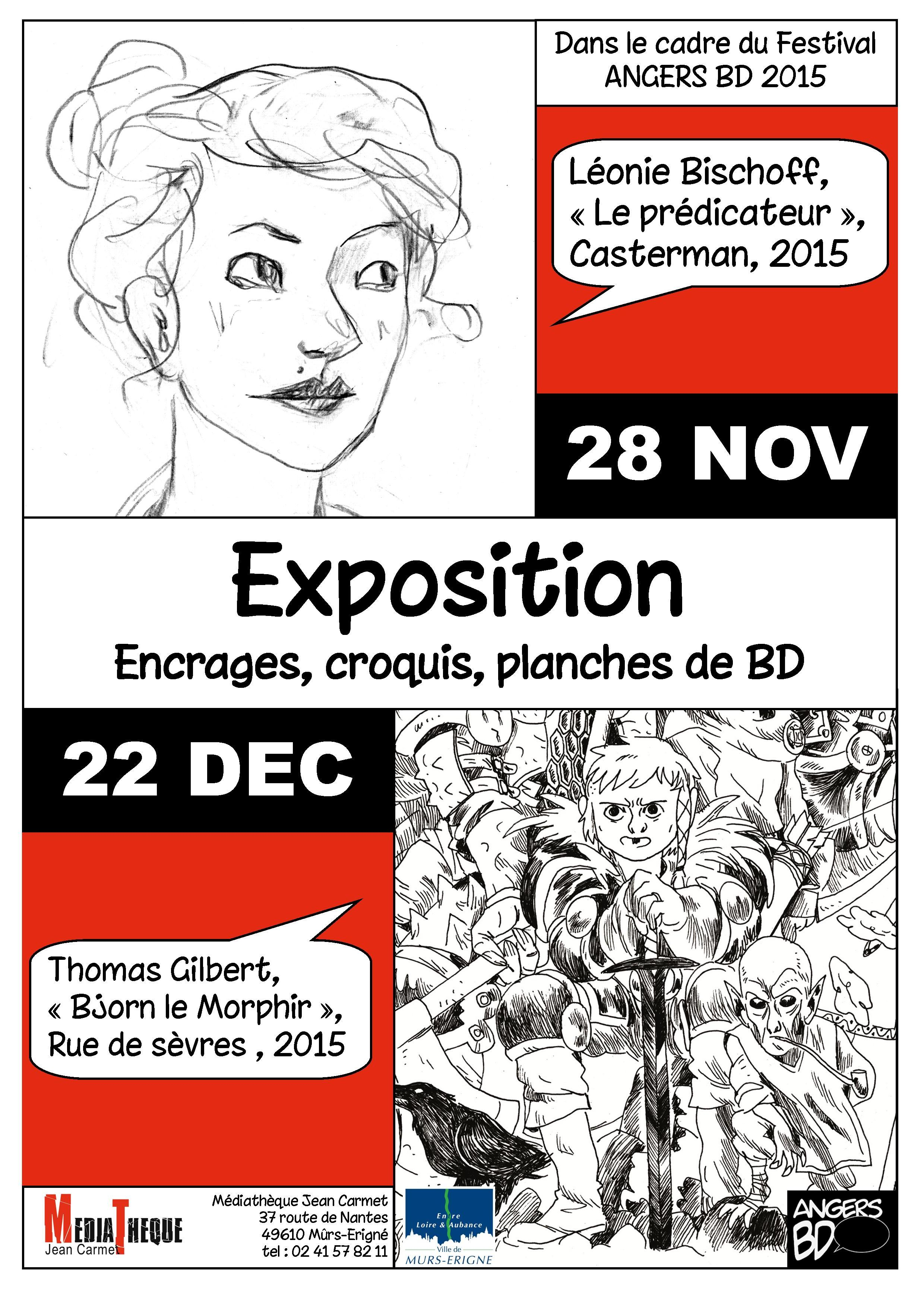 Affiche angers BD 2015