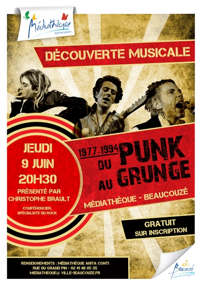 affiche punk