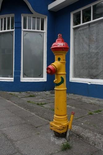 oeil du pieton Reykjavik